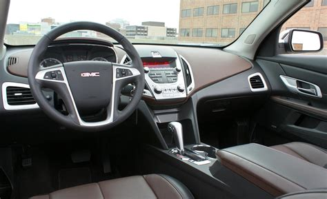 Interior Of Gmc Terrain by Car And Driver
