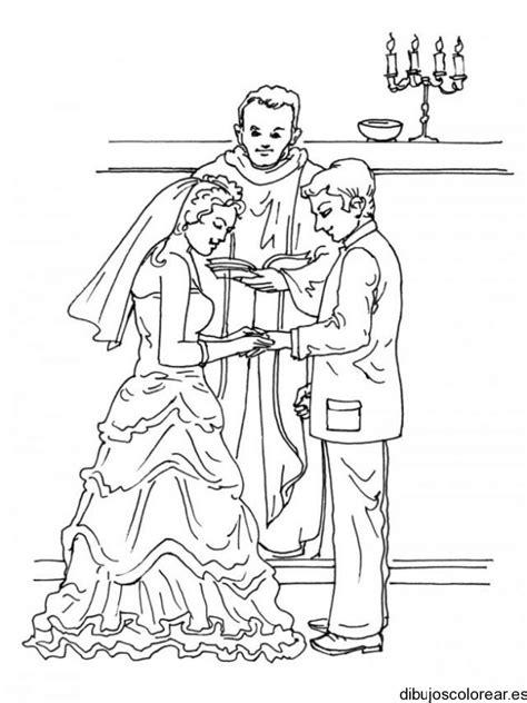 imagenes para colorear religiosas catolicas dibujo de una boda religiosa