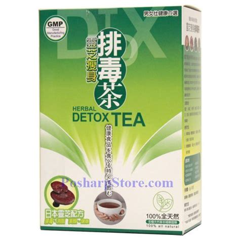 Slim Tea Detox Review by Lingzhi Herbal Slim Detox Tea