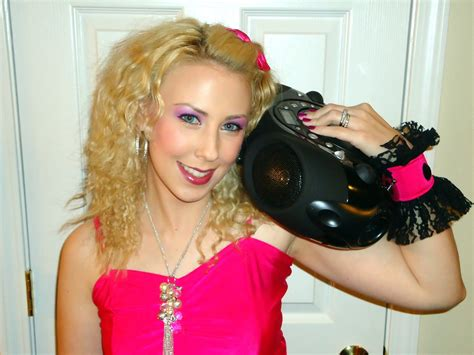 80s costume hairstyles halloween tutorial easy 80 s party girl makeup hair