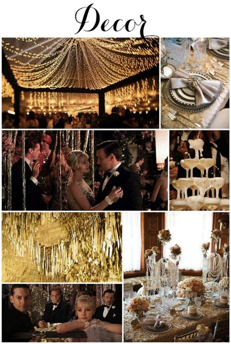 the theme of the great gatsby is linen lace love great gatsby themed wedding