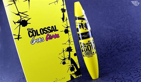 Maybelline Go maybelline colossal go chaotic mascara review