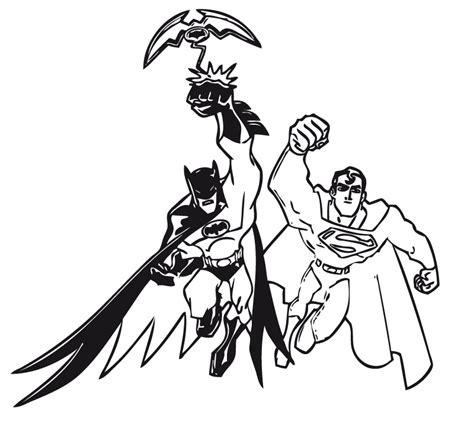 dibujos para colorear batman robin batgirl y batman para imprimir batman y superman dibujalia dibujos para colorear