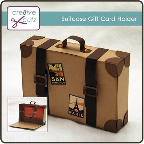 Paper Gift Card Holders - suitcase gift card holder 99c it s so cute gifting pinterest suitcase gift and