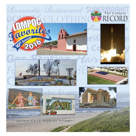 lompoc favorites 2016 by central coast newspapers issuu