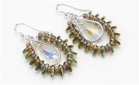 how to make metal st jewelry rainbow diy earrings allfreejewelrymaking