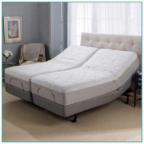 sleep number split king adjustable bed