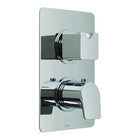 Shower Bath Mixer Taps concealed 2 outlet thermostatic shower valve with