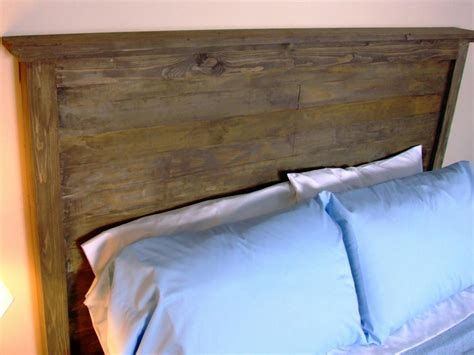 making a rustic headboard 15 easy diy headboards diy