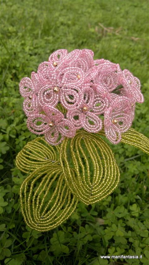 fiori di perline tutorial tutorial fiori di perline ortensia manifantasia