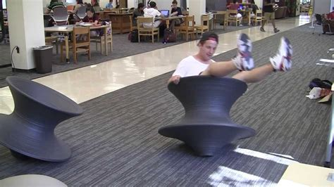 Spinning Top Chair by Take The Spun Chairs For A Spin
