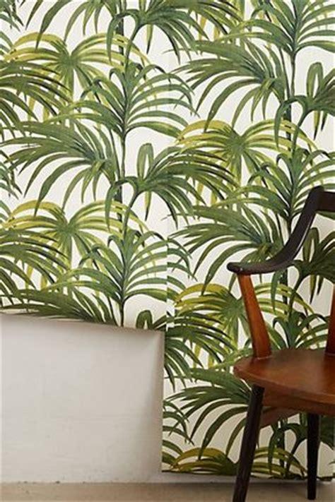 palm leaves wallpaper the hawaiian home