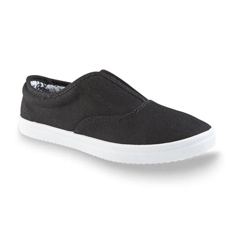 basic editions shoes basic editions s black slip on shoe