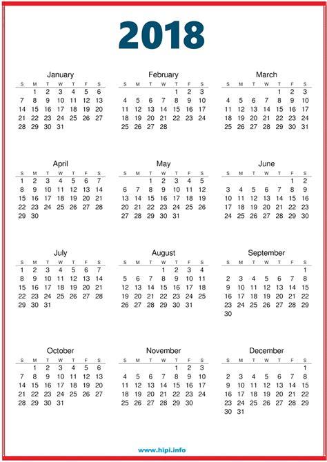 printable calendar 2018 a3 twitter headers facebook covers wallpapers calendars