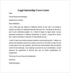 cover letter internship paralegal