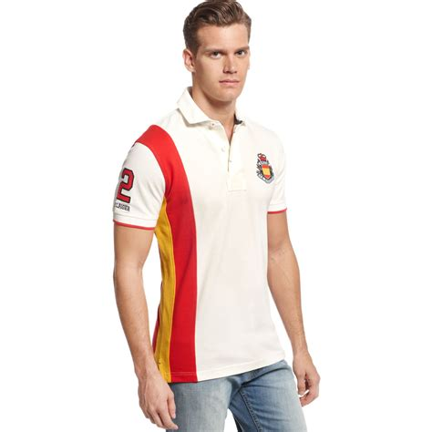 Polo Spain World Cup Team Ordinal Apparel hilfiger spain world cup polo european collection in white for snow white lyst