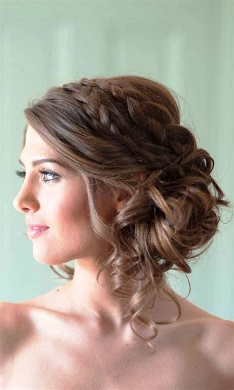Romantic Hairstyles For Long Straight Hair | 20 beautiful wedding updos for long hair ideas to try