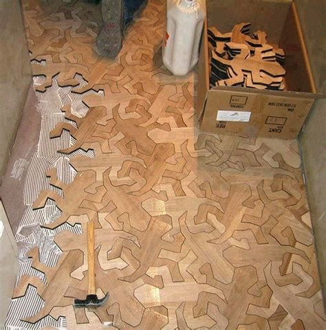 puzzle floor ideas