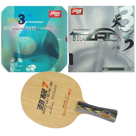 Dhs Pg 7 Power G 7 Table Tennis Blade 7 Ply Wood Ping Pong Ba dhs power g7 pg7 pg 7 pg 7 with dhs tinarc 3 and dhs neo