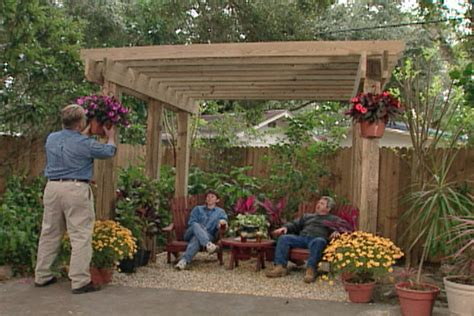 backyard sitting area ideas pergola plans 20 diy ideas to add shaded sitting area