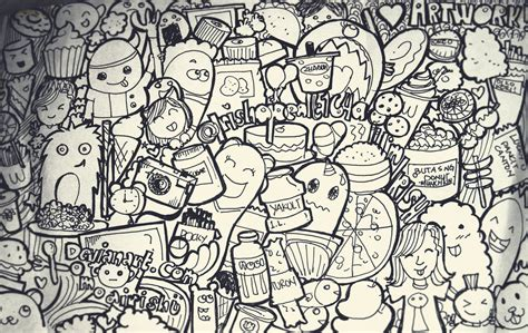 how to start a doodle doodle seni mencoret vincent cahya