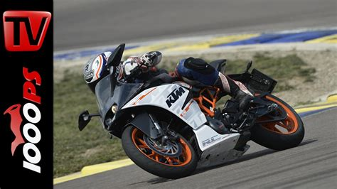 Rc Motorrad Videos by Video Ktm Rc 390 Testvideo 2014 Strasse Rennstrecke