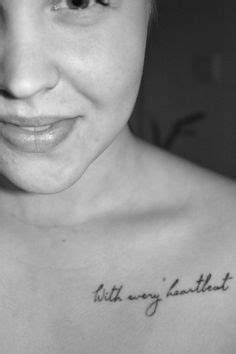 tattoo with every heartbeat meaning heartbeat heartbeat tattoos and a symbol on pinterest