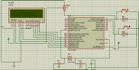 variable resistor using microcontroller push button interfacing with pic microcontroller step by step learn pic microcontroller