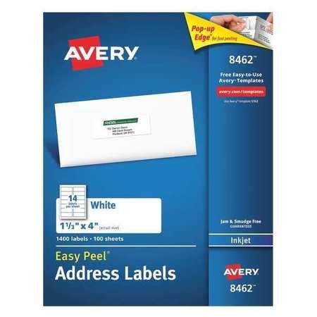 avery 8462 template avery avery easy peel address label for inkjet printers