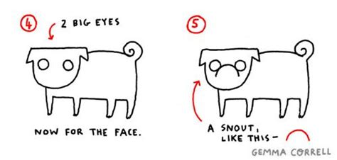 pug tutorial 17 best images about pug diy on diy how to draw and your