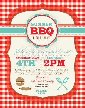 templates for picnic flyers picnic invitation design template royalty free stock