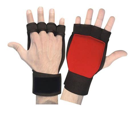 Motorradhandschuhe Neopren by Fitness Neopren Grips Handschuhe Gewichtheben Bodybuilding