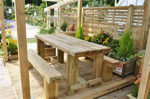Garden Table And Bench Most Popular Solid Wood Garden Furniture Home Decor Help