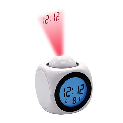 Alarm Clock That Displays Time On Ceiling by Authentic Projection Alarm Clock Digital Ceiling Wall