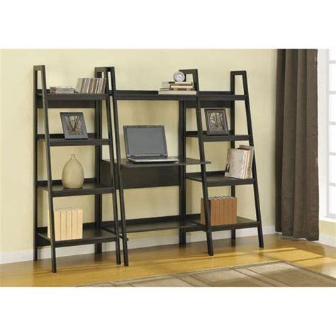 Altra Metal Ladder Bookcase Set Of 2 Black Ladder Metal Ladder Bookcase