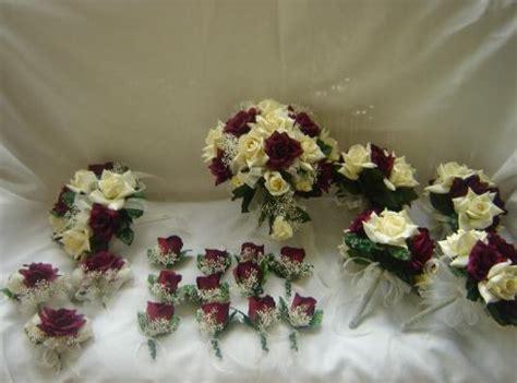 Cheap Bouquet Packages Silk Wedding Bouquets  Silk Flower