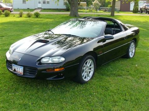 buy used 2001 camaro ss 5 7l 6 speed manual t tops in warren illinois united states for us