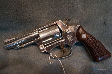 Revolver S W M36 s w m36 38sp nickel for sale