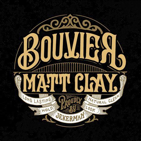 Pomade Malang bouvier matt clay pomade label on behance