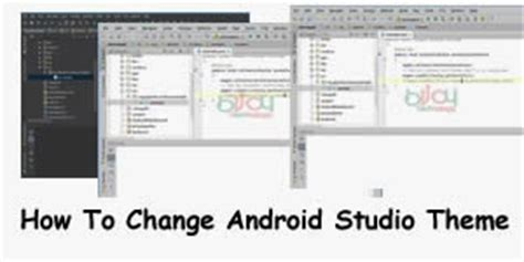 how to change android theme how to change android studio theme thedevline place of inspiration