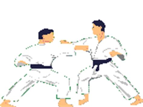 olahraga bela diri pertarungan gif gambar animasi animasi bergerak 100 gratis