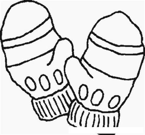 coloring page winter scarf colorear guantes de lana para el frio colorear dibujos