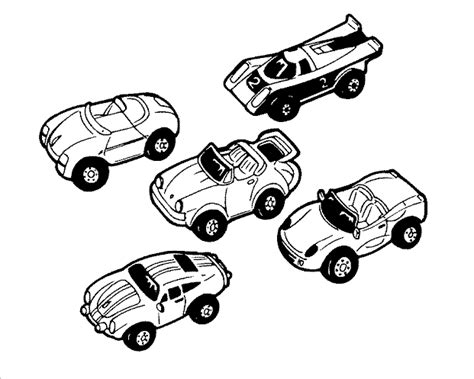 toy car coloring coloring pages