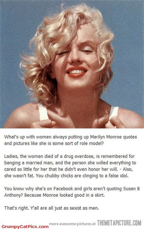 Marilyn Monroe Meme - marilyn monroe quotes funny quotesgram