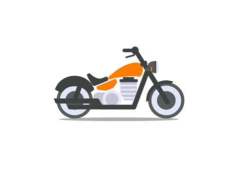 motorcycle icon by ben t dribbble