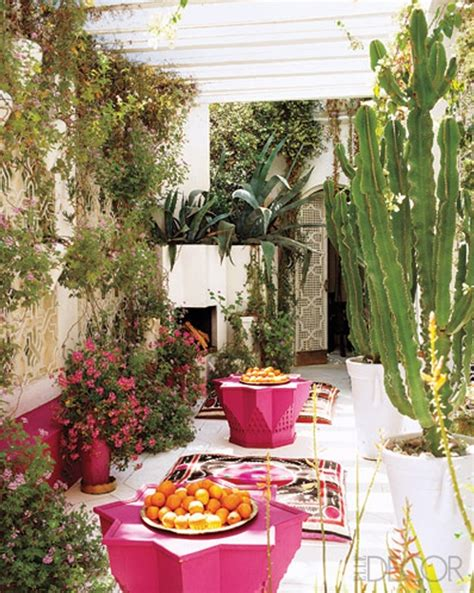 Terrace Accents Garden Accessories 37 Beautiful Bohemian Patio Designs Digsdigs