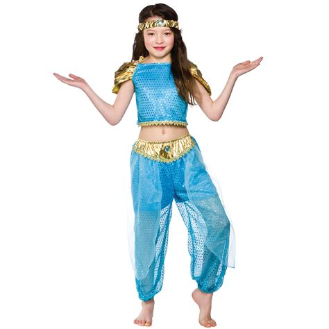 Dress Kostum Princess Disney Premium Size 8 12y arabian princess costume fancy dress up