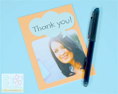 make a thank you card easy personalized cards from cardstore gift idea