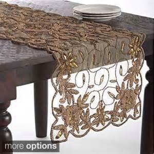 Hand beaded design table topper or table runner p15733944 jpg
