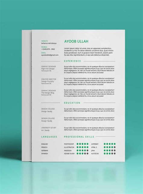 resume formats that get noticed 9 free r 233 sum 233 templates that will get you noticed